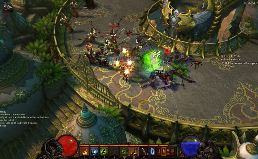 Little Talks: Diablo, Dungeon-crawling and Open-world Design